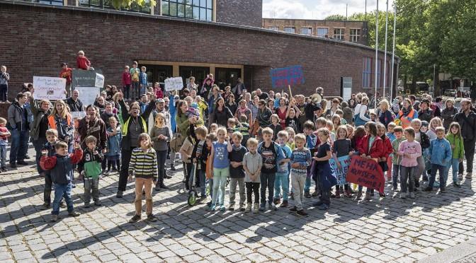 Hilfe wir platzen! Berliner Ganztagsschulen sind zu klein